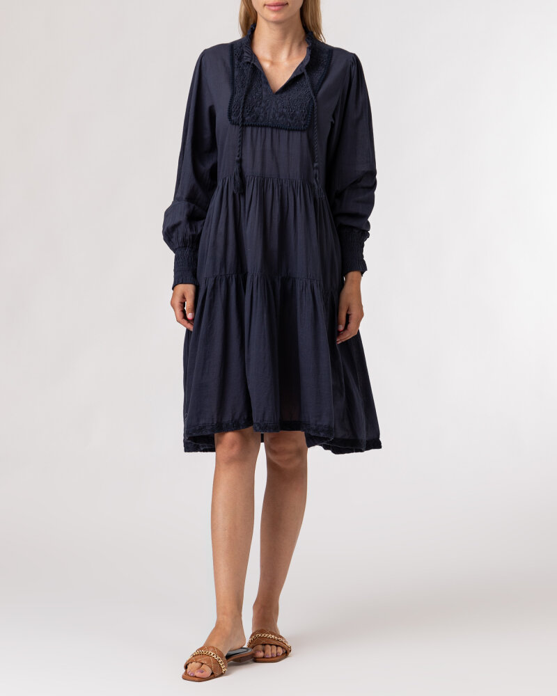 Sukienka Lollys Laundry 21201_3000_WASHED BLACK granatowy - fot:6