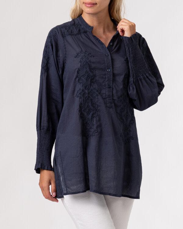 Koszula Lollys Laundry 21201_2000_WASHED BLACK granatowy