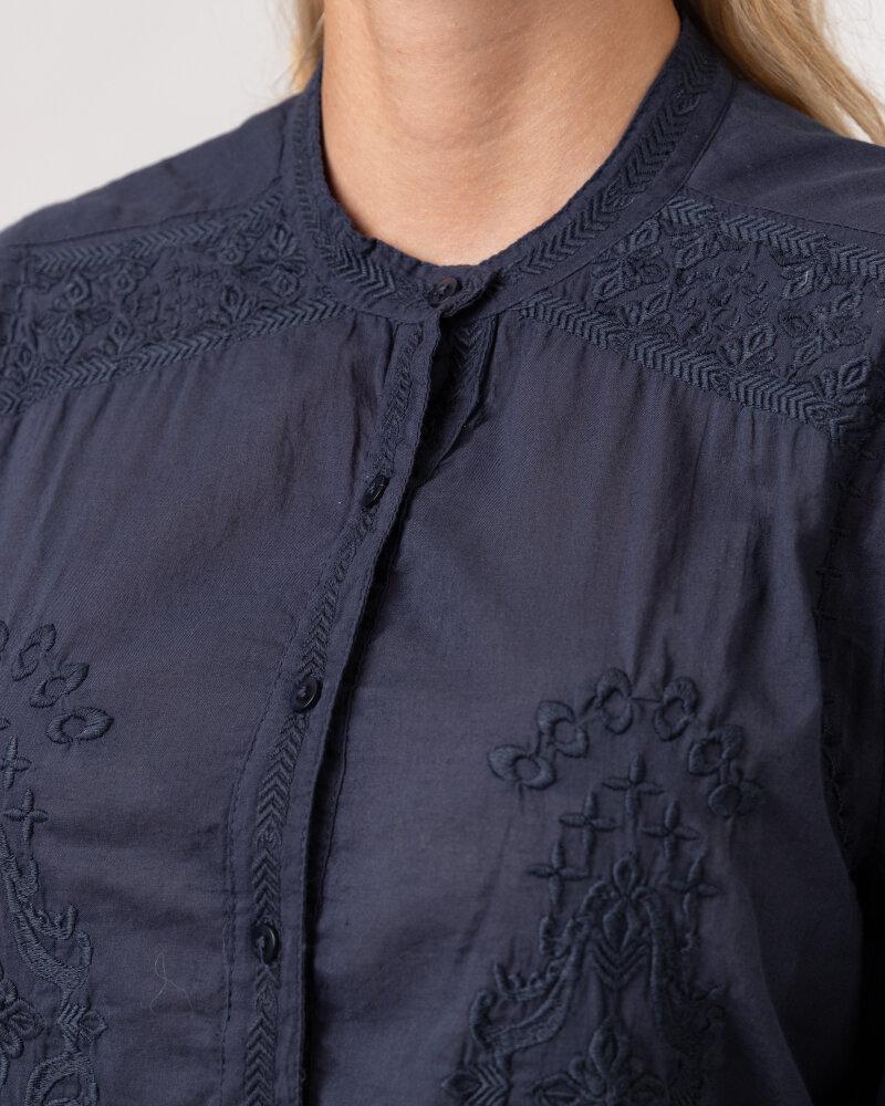 Koszula Lollys Laundry 21201_2000_WASHED BLACK granatowy - fot:3
