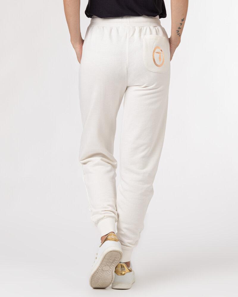 Spodnie Trussardi  56P00294_1T002268_W009 kremowy - fot:4