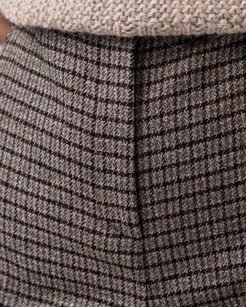Spodnie Trussardi  56P00286_1T005371_E747 brązowy - fot:3
