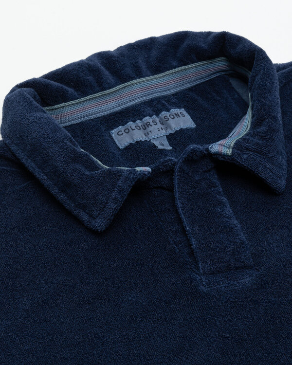 Polo Colours & Sons 9321-461_699 NAVY granatowy