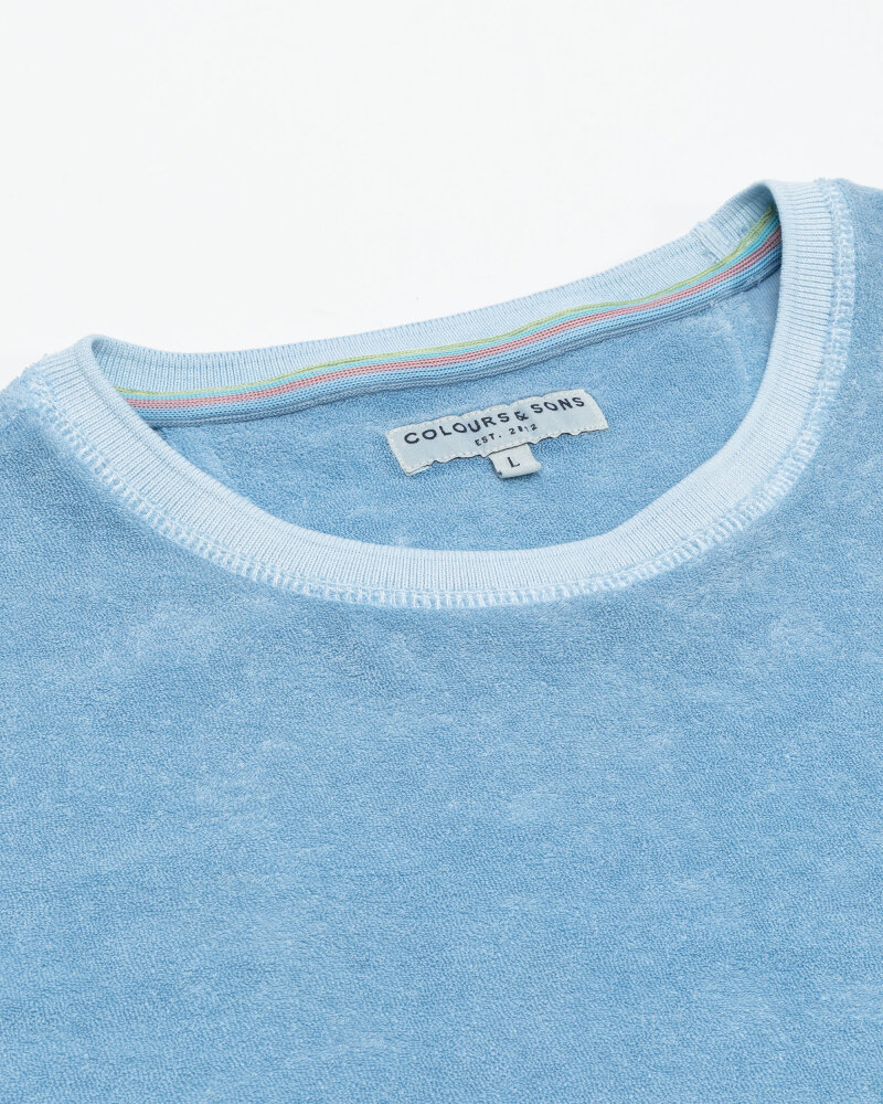 T-Shirt Colours & Sons 9321-460_600 Baby Blue Błękitny Colours & Sons 9321-460_600 BABY BLUE błękitny - fot:2