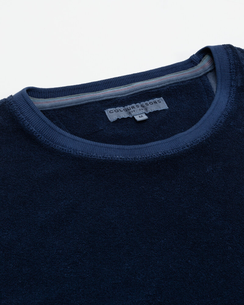 T-Shirt Colours & Sons 9321-460_699 NAVY granatowy - fot:2