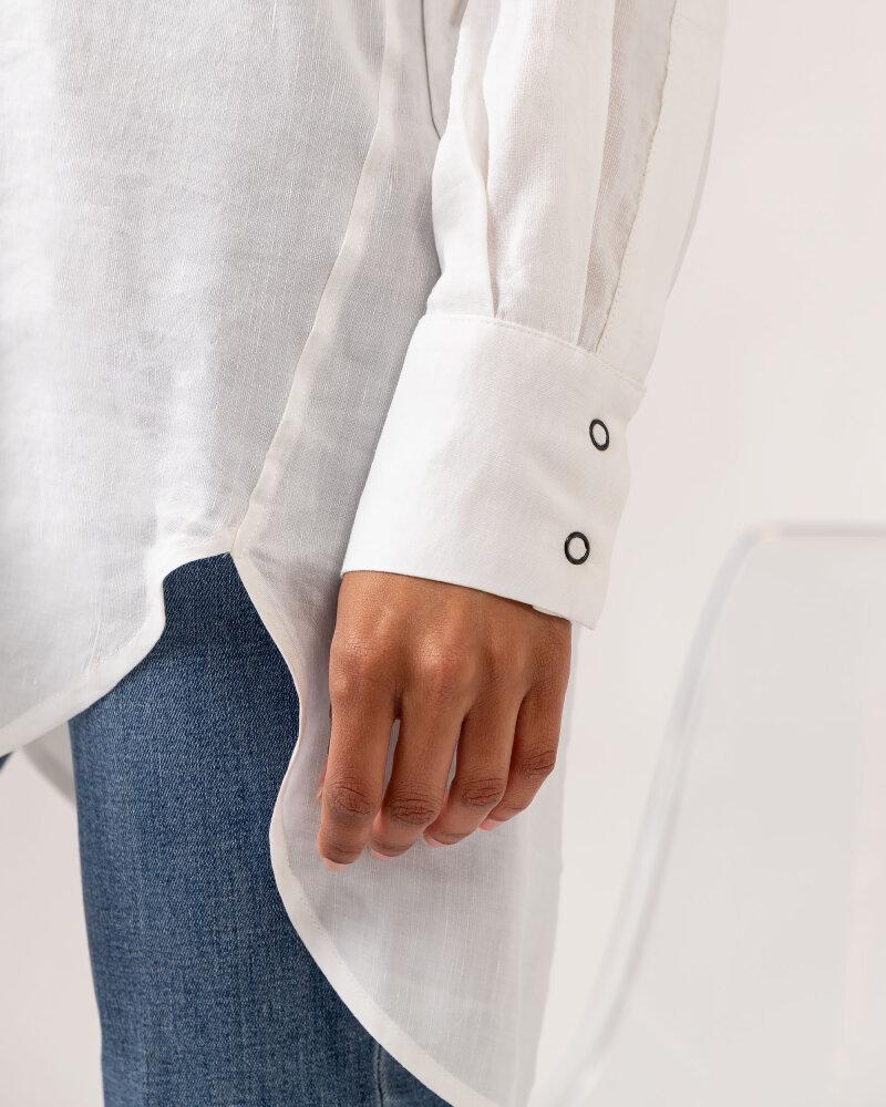 Koszula Fraternity WL21_MIKA_WHITE biały - fot:6