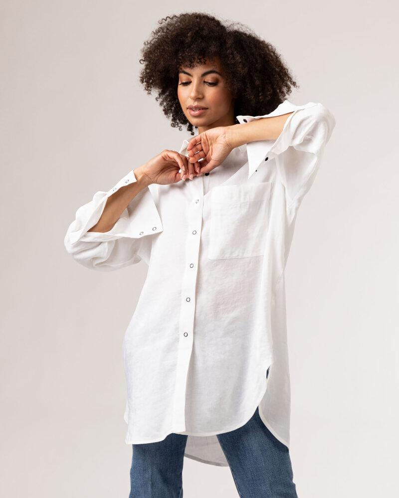 Koszula Fraternity WL21_MIKA_WHITE biały - fot:7