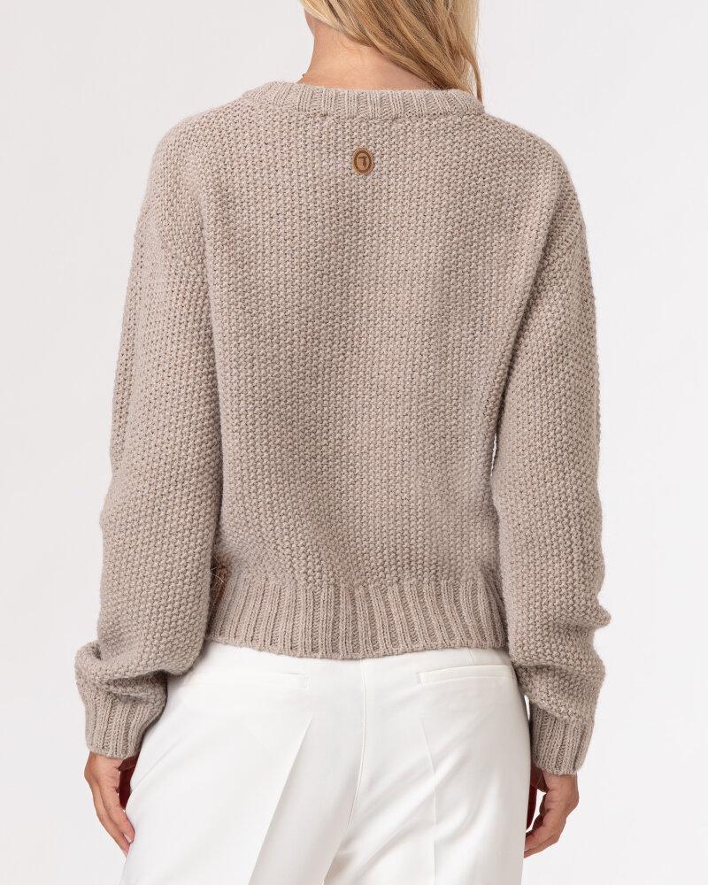 Sweter Trussardi  56M00402_0F000702_W055 beżowy - fot:4