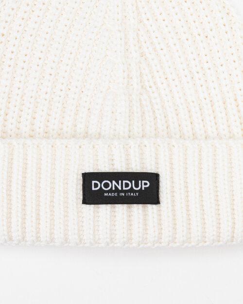 Czapka Dondup UQ065_Y00474U_001 kremowy