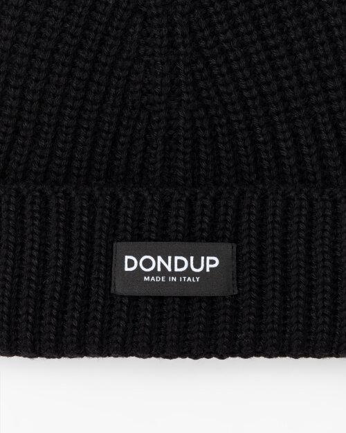 Czapka Dondup UQ065_Y00474U_999 czarny