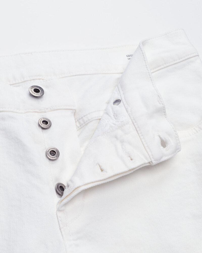 Spodnie Dondup UP232_BS0033U_000 biały - fot:2