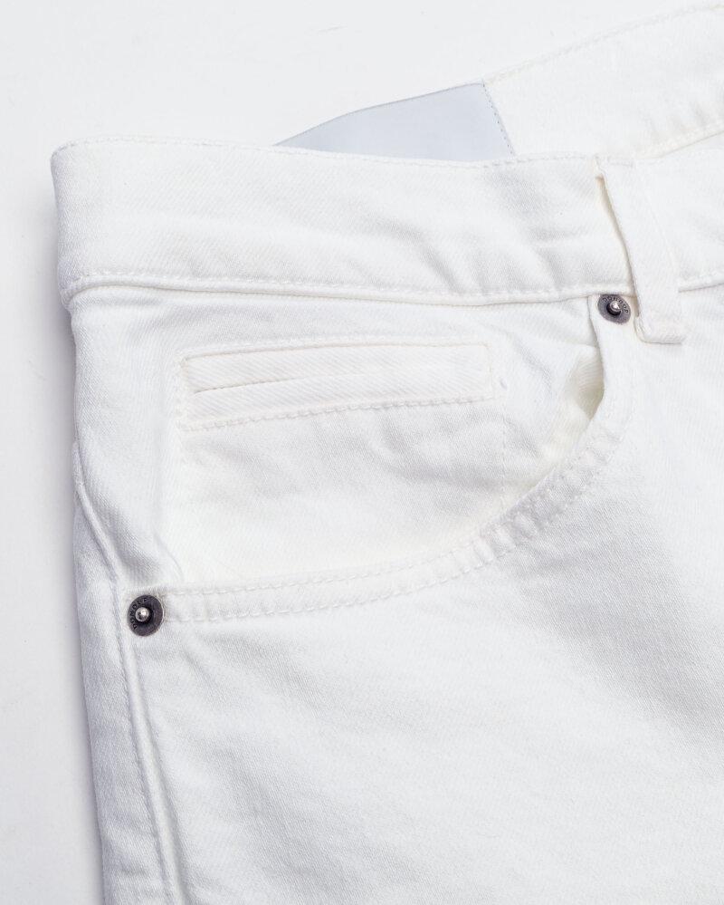 Spodnie Dondup UP232_BS0033U_000 biały - fot:3