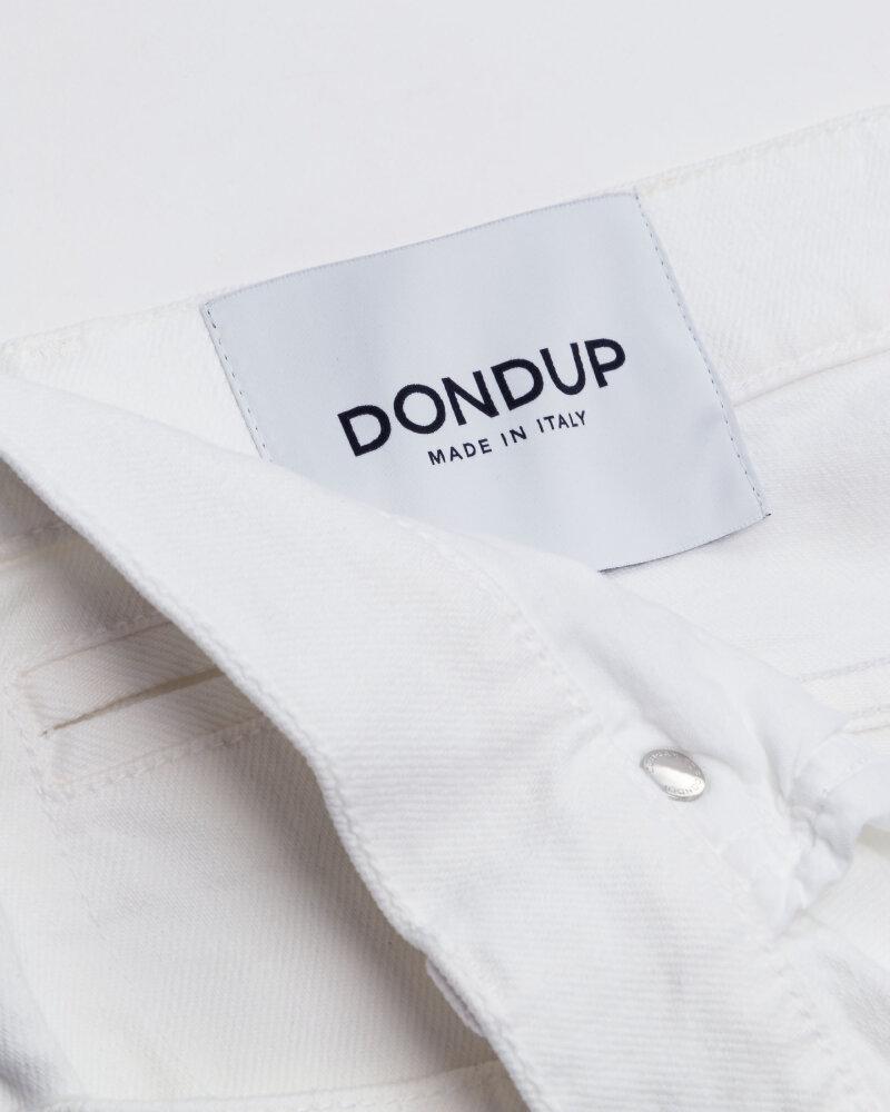 Spodnie Dondup UP232_BS0033U_000 biały - fot:4