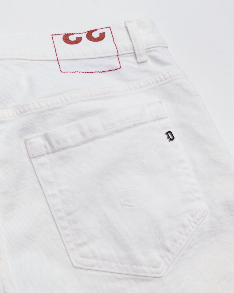 Spodnie Dondup UP232_BS0033U_000 biały - fot:5
