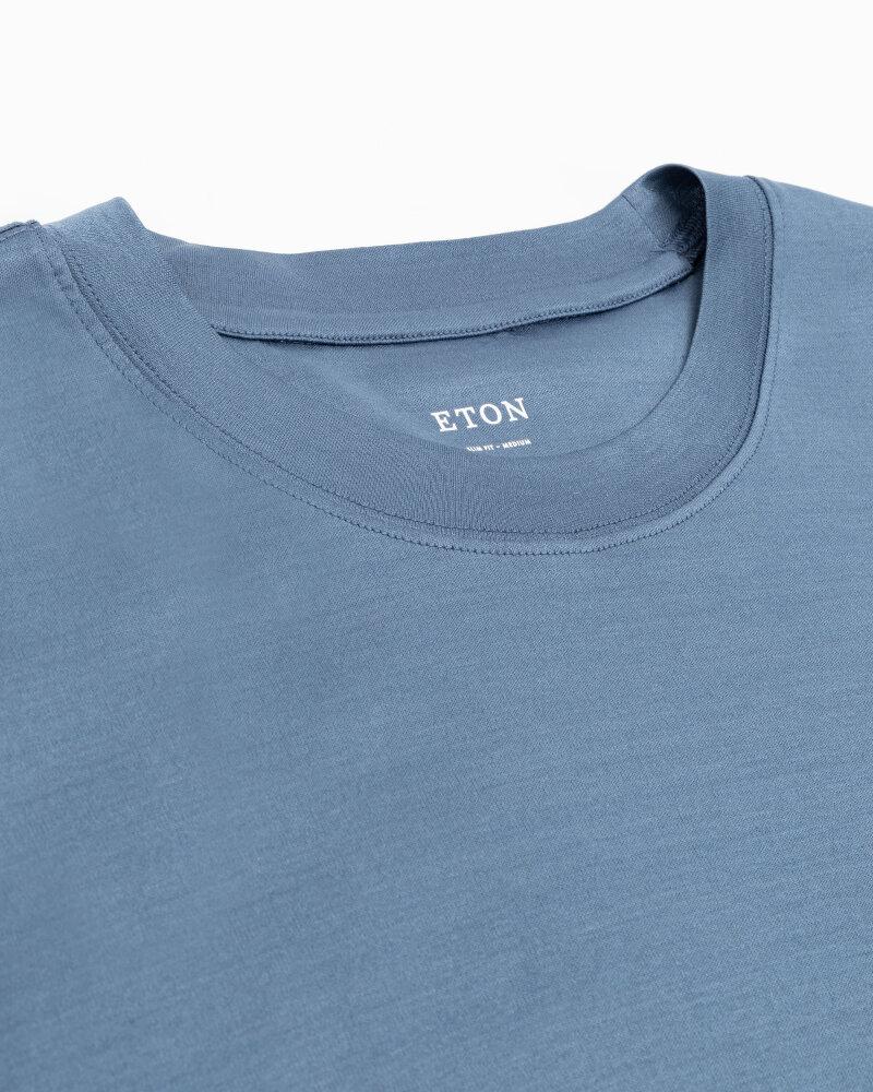 T-Shirt Eton 1000_02356_14 niebieski - fot:2