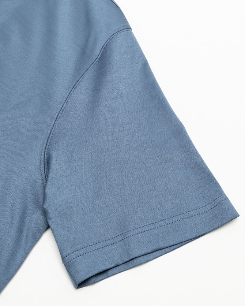 T-Shirt Eton 1000_02356_14 niebieski - fot:3