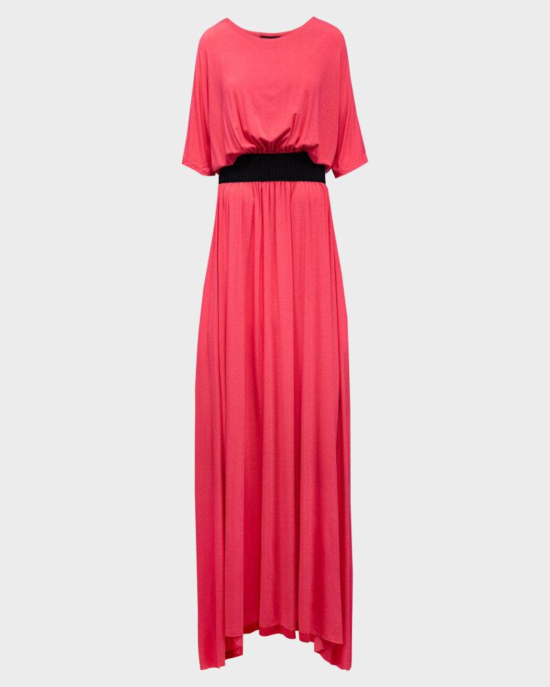 Sukienka Agi Jensen Z Gumą_MALINOWY czerwony - fot:1