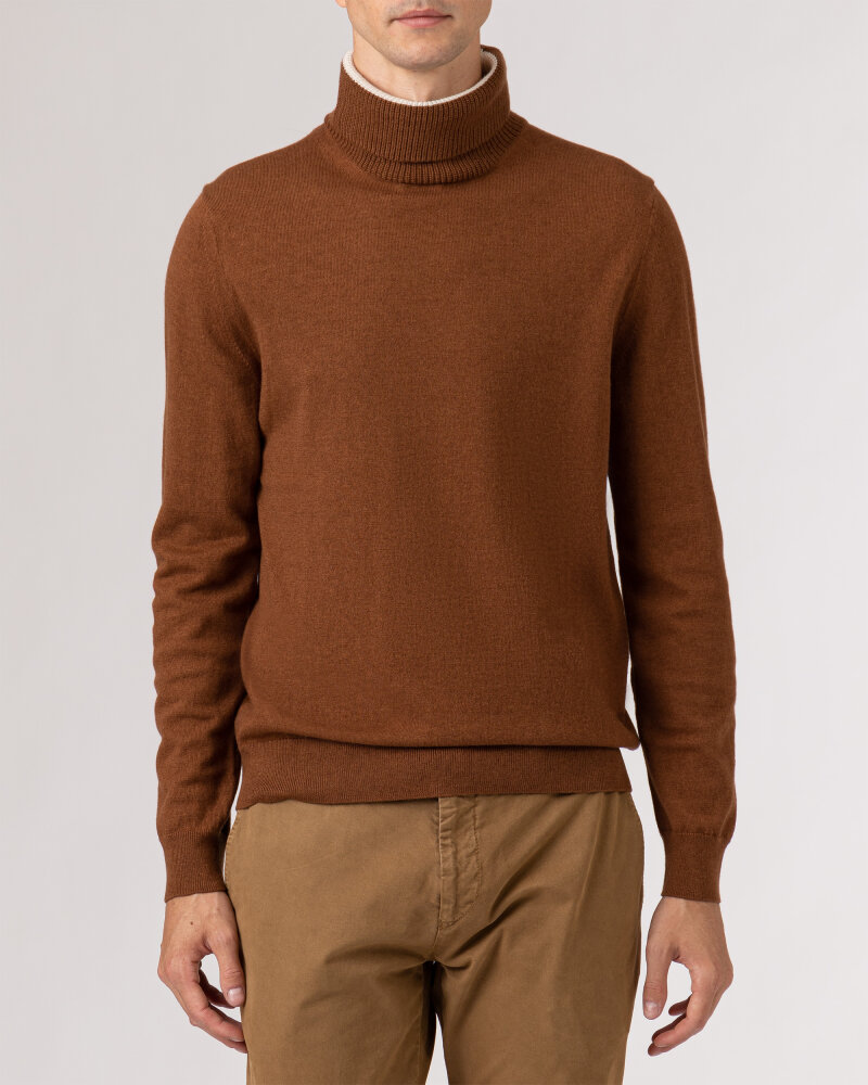 Sweter Roy Robson 091058631080200/01_A215 camelowy - fot:2