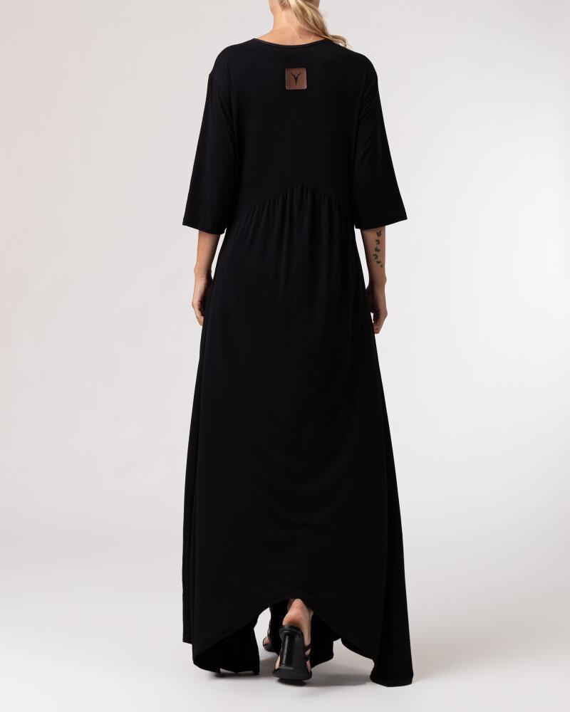 Sukienka Agi Jensen Hippie_CZARNY czarny - fot:4