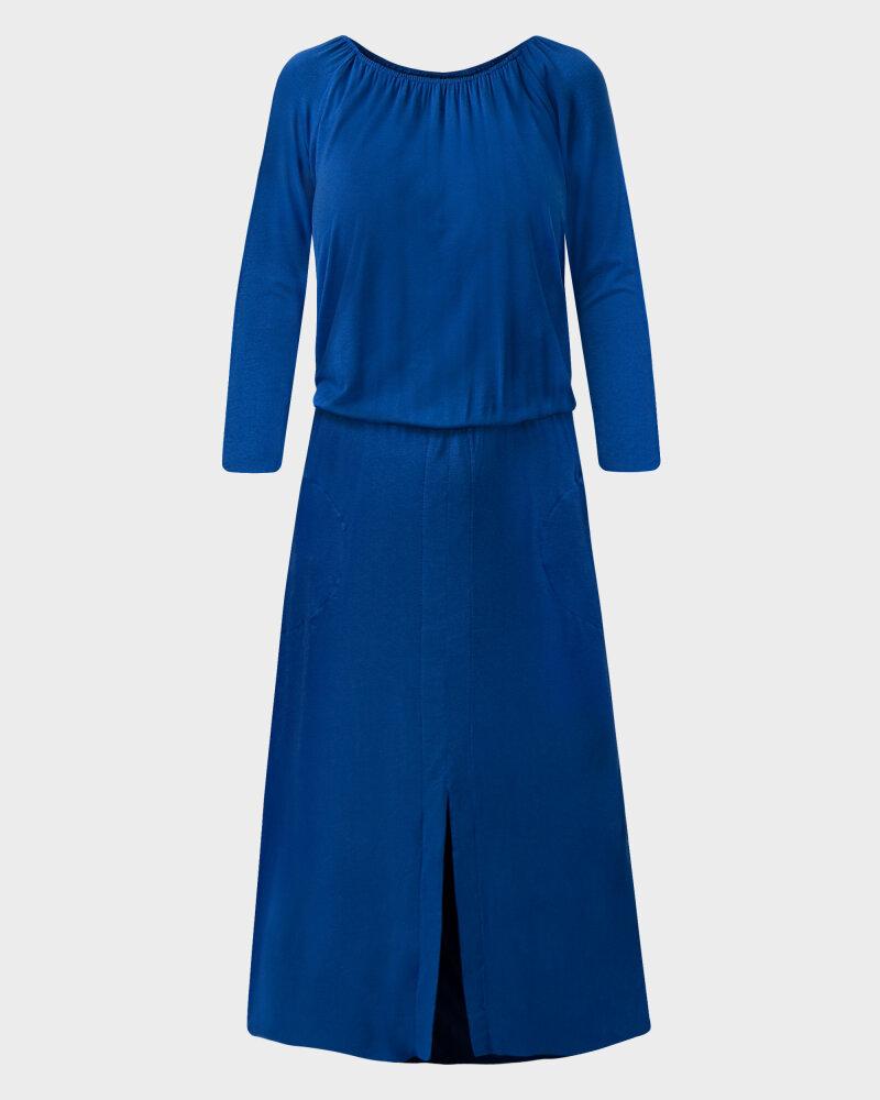 Sukienka Agi Jensen Z Rozporkiem_SZAFIROWY niebieski - fot:1