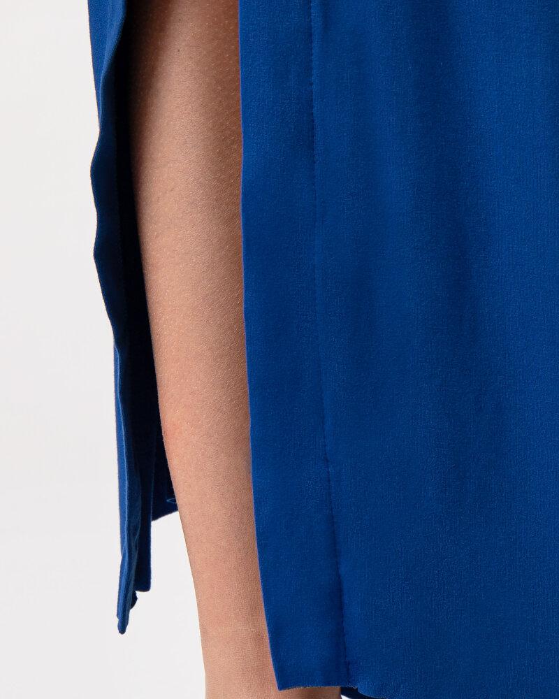 Sukienka Agi Jensen Z Rozporkiem_SZAFIROWY niebieski - fot:3