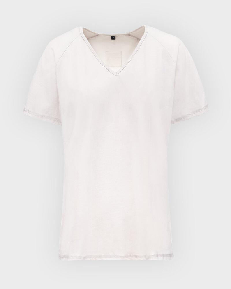 T-Shirt Agi Jensen Like a Sunsh_ZLAMANA BIEL kremowy - fot:1