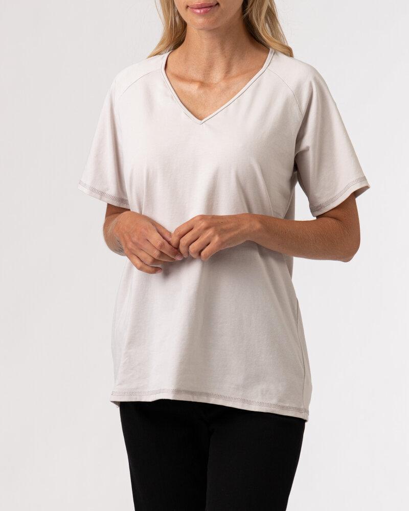 T-Shirt Agi Jensen Like a Sunsh_ZLAMANA BIEL kremowy - fot:2