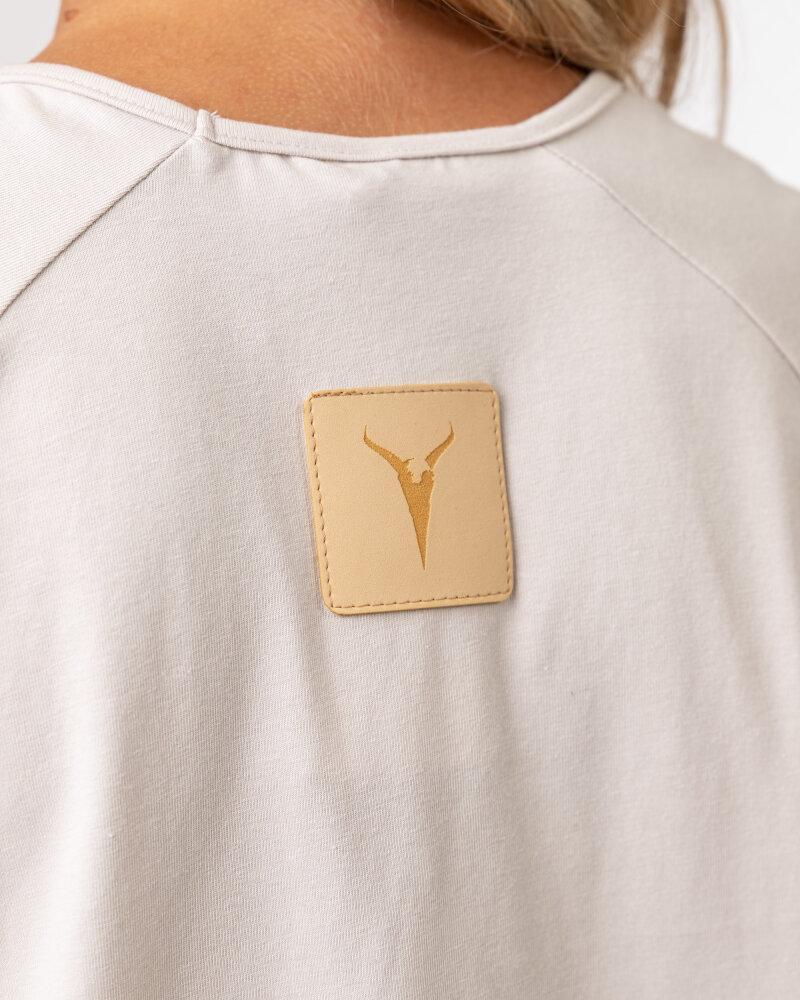 T-Shirt Agi Jensen Like a Sunsh_ZLAMANA BIEL kremowy - fot:4