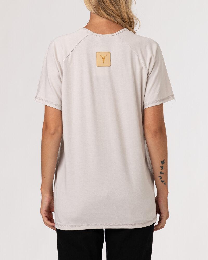 T-Shirt Agi Jensen Like a Sunsh_ZLAMANA BIEL kremowy - fot:5