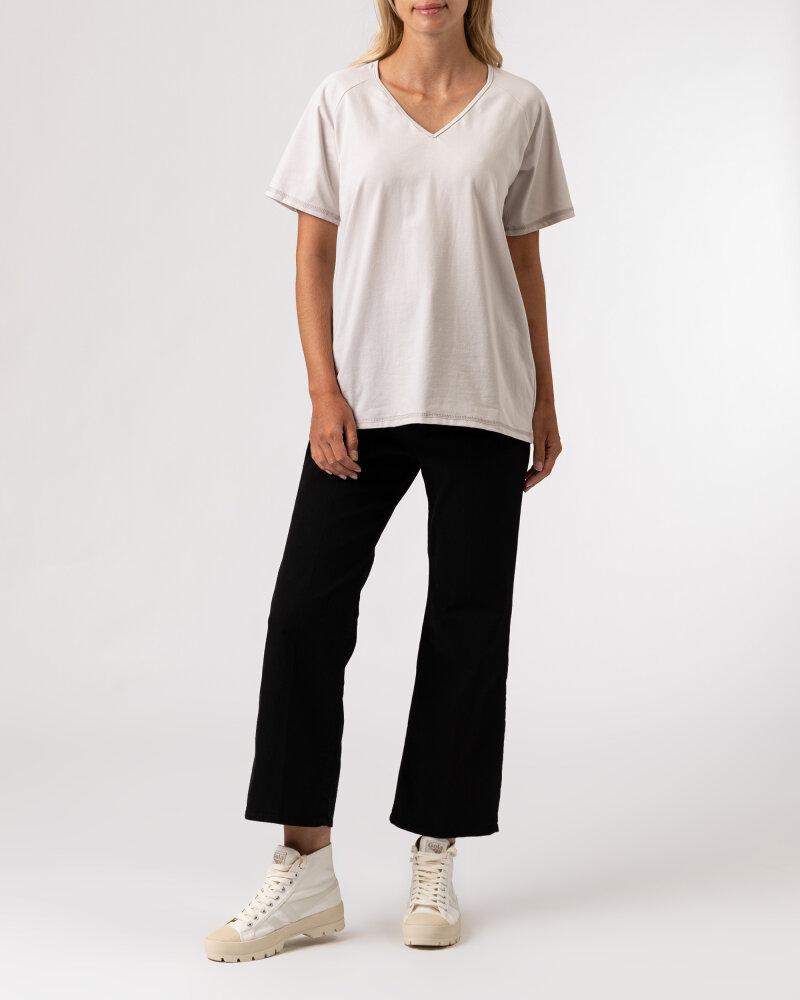 T-Shirt Agi Jensen Like a Sunsh_ZLAMANA BIEL kremowy - fot:6