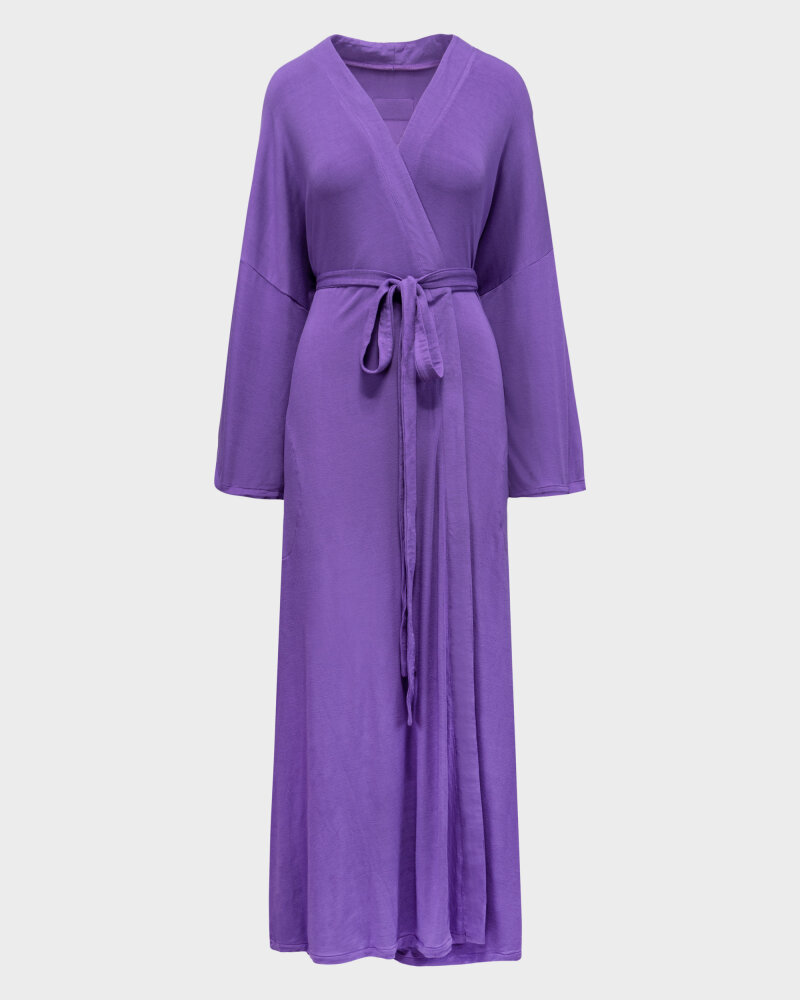Sukienka Agi Jensen Kimono_FIOLET/LILLAS fioletowy - fot:1