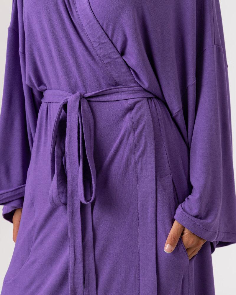 Sukienka Agi Jensen Kimono_FIOLET/LILLAS fioletowy - fot:3