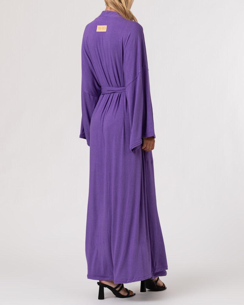 Sukienka Agi Jensen Kimono_FIOLET/LILLAS fioletowy - fot:5