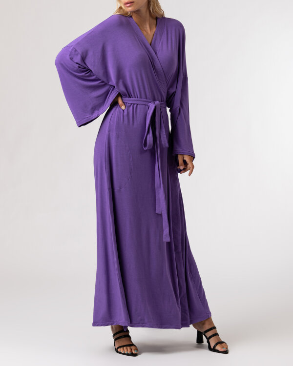 Sukienka Agi Jensen Kimono_FIOLET/LILLAS fioletowy
