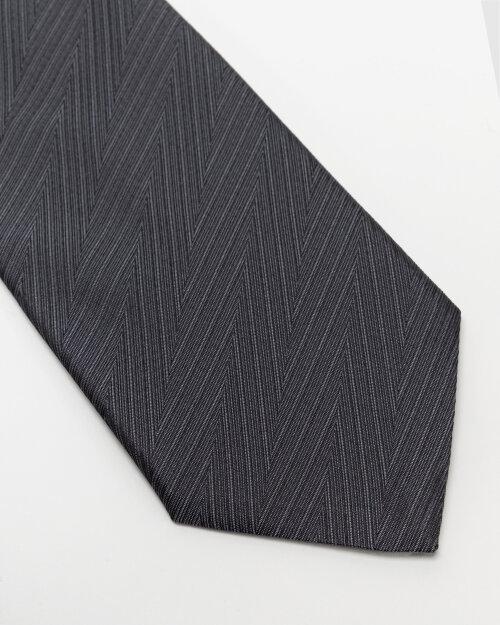 Krawat Eton A000_32661_38 grafitowy