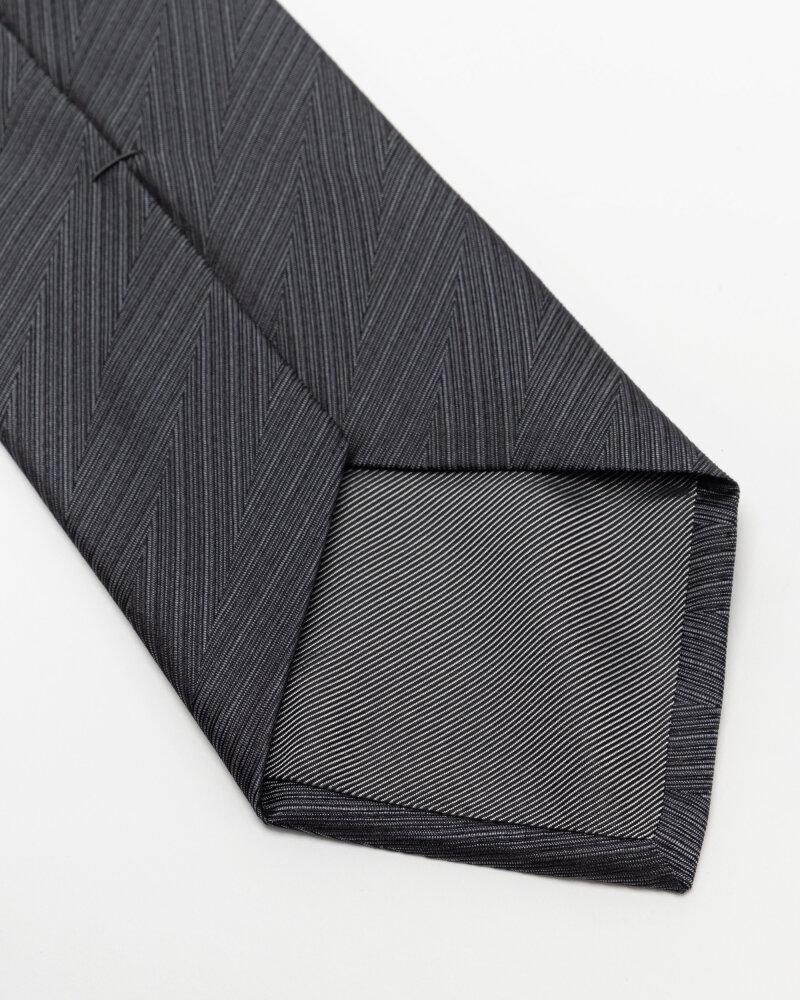 Krawat Eton A000_32661_38 grafitowy - fot:3