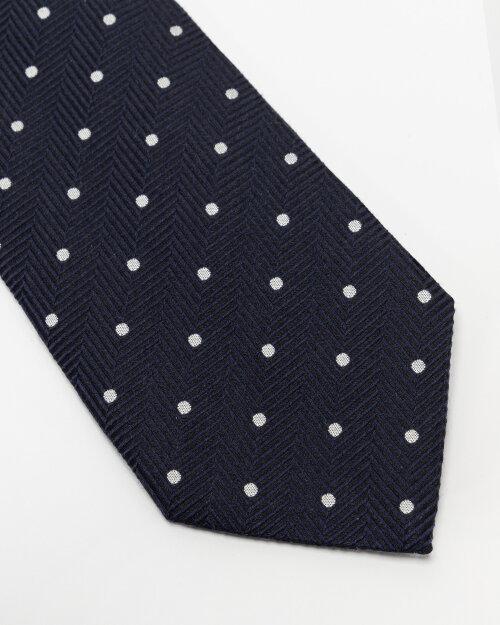Krawat Eton A000_33099_29 granatowy
