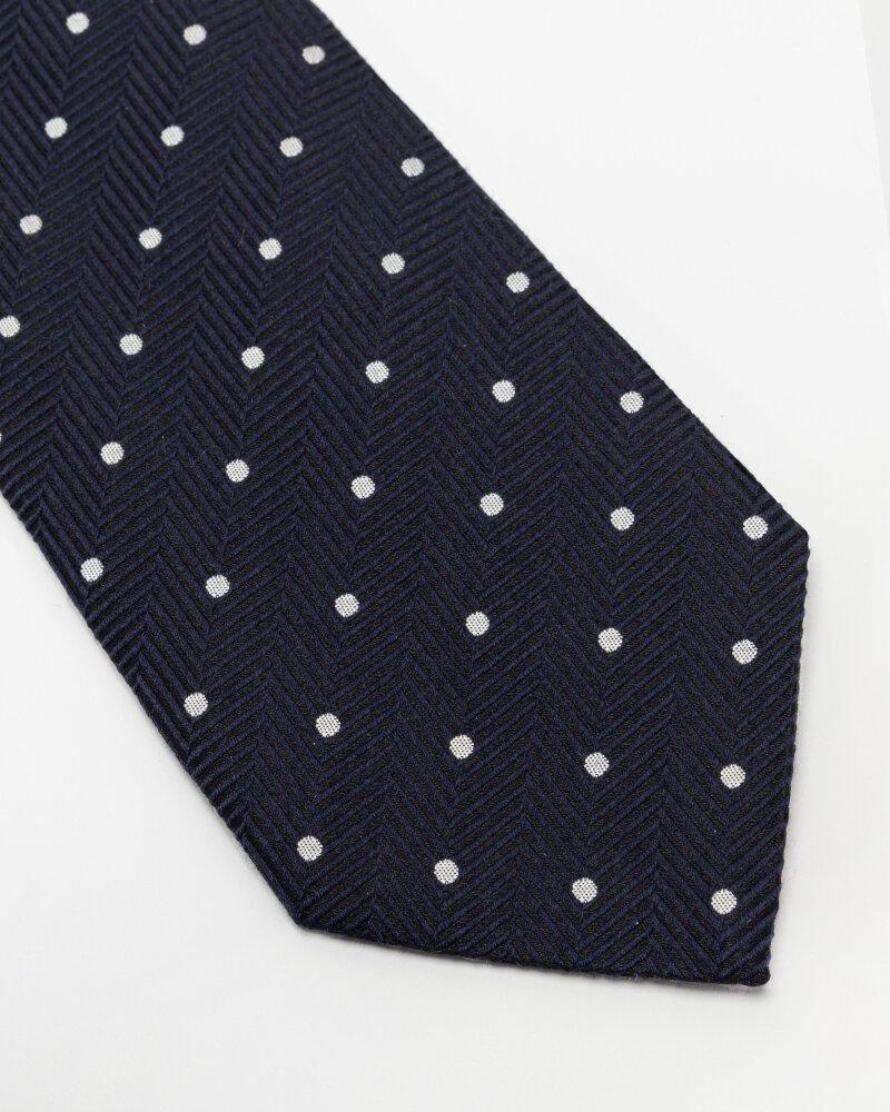 Krawat Eton A000_33099_29 granatowy - fot:2