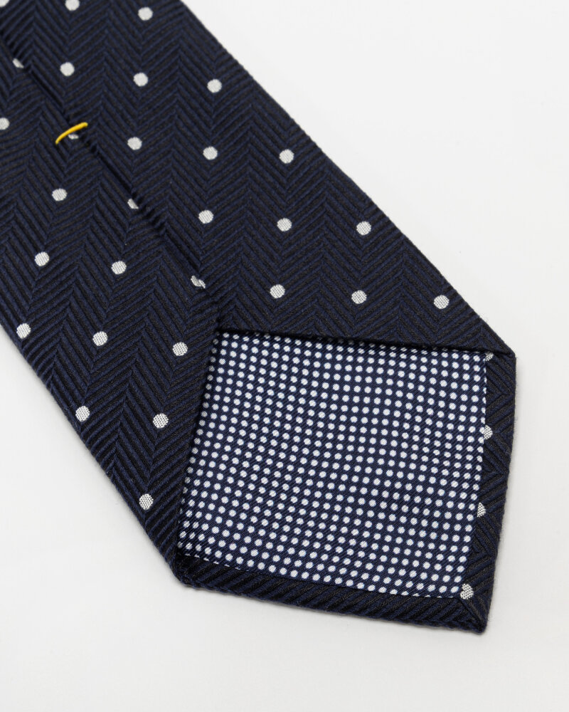 Krawat Eton A000_33099_29 granatowy - fot:3