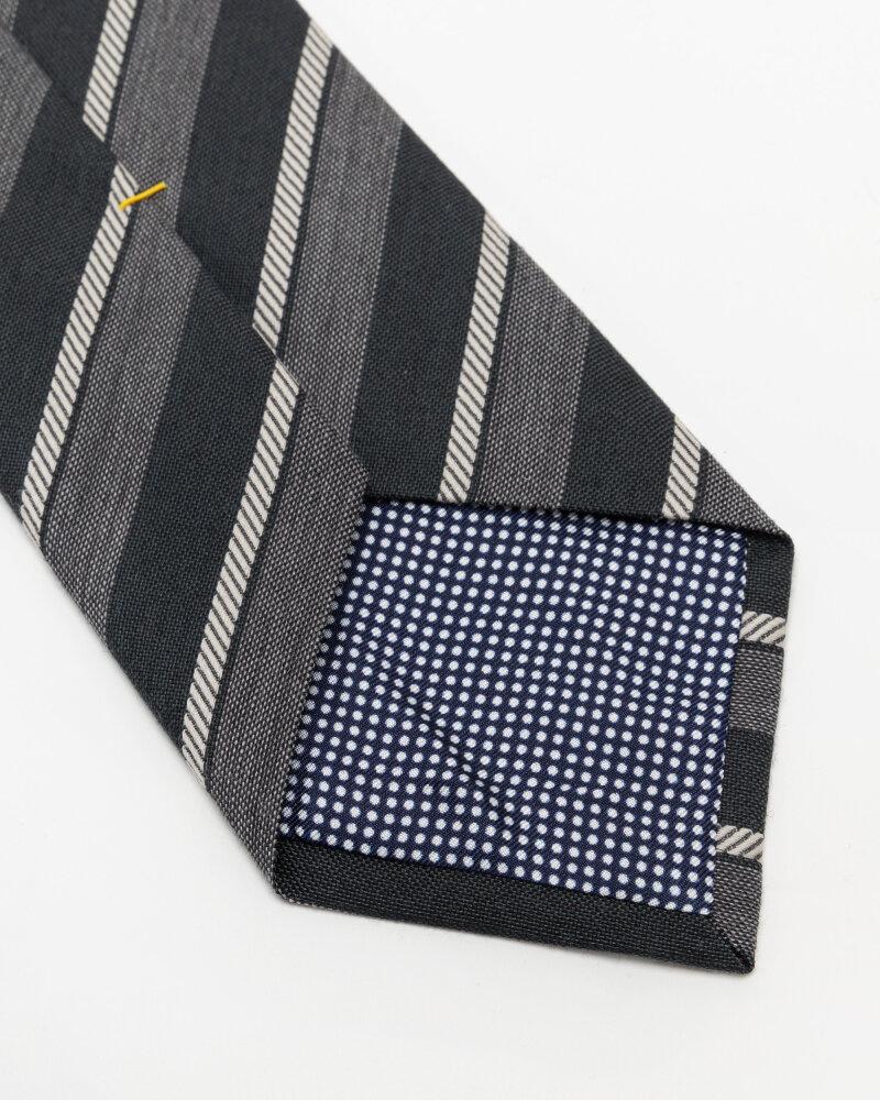 Krawat Eton A000_33100_17 szary - fot:3