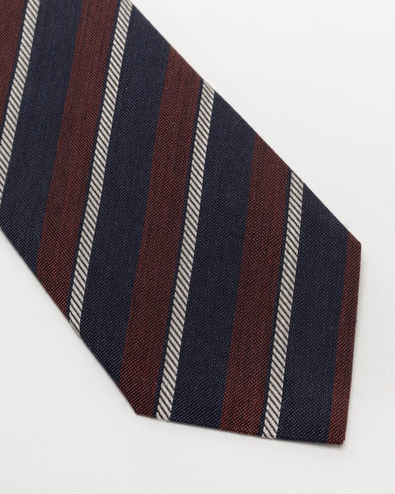 Krawat Eton A000_33100_49 bordowy - fot:2