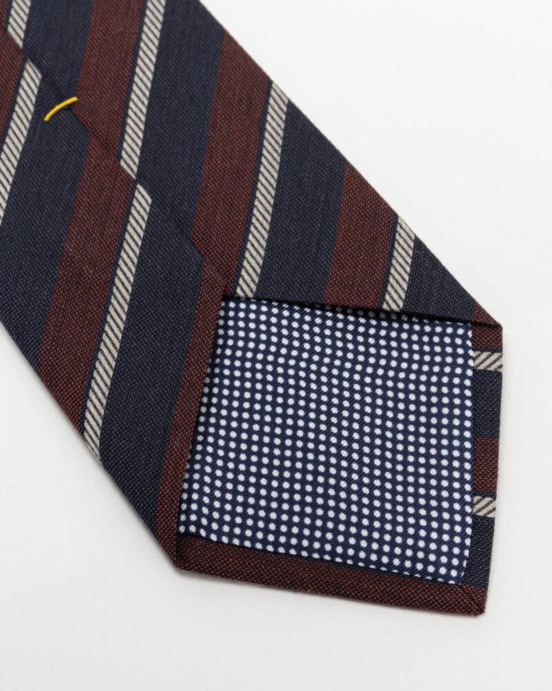 Krawat Eton A000_33100_49 bordowy - fot:3