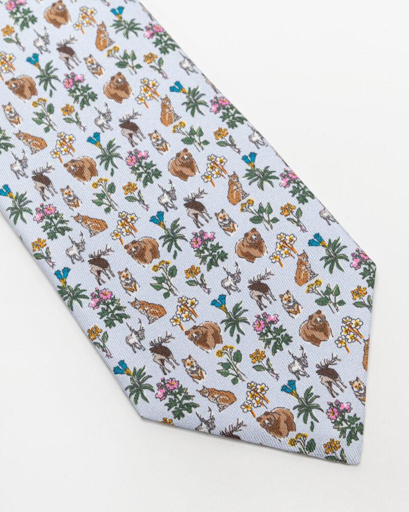 Krawat Eton A000_33103_21 błękitny - fot:2