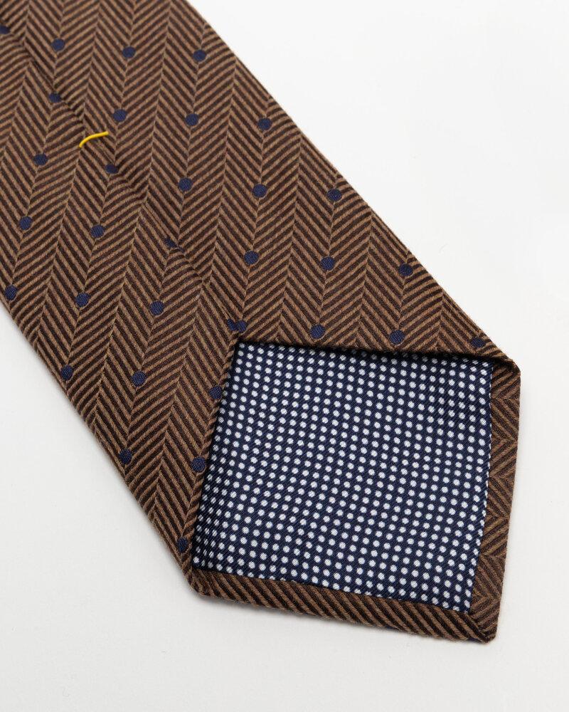 Krawat Eton A000_33099_35 brązowy - fot:3