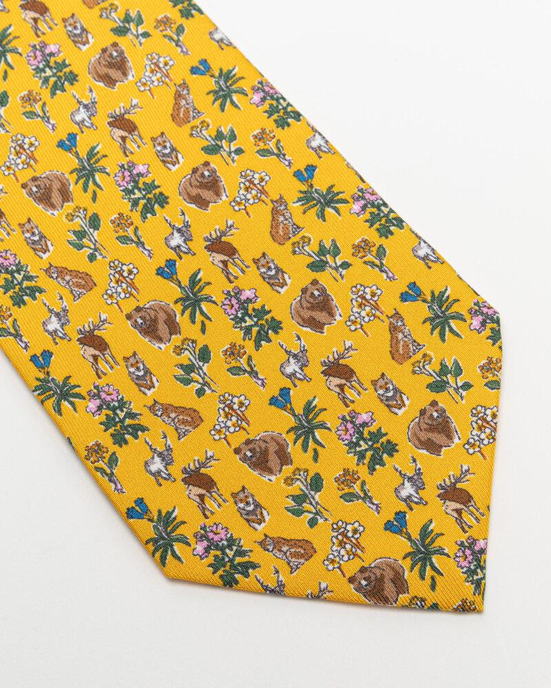 Krawat Eton A000_33103_49 żółty - fot:2