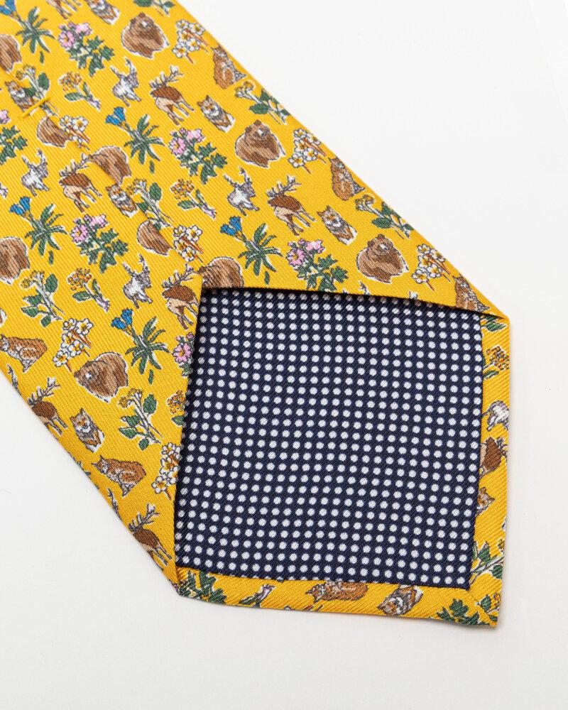 Krawat Eton A000_33103_49 żółty - fot:3