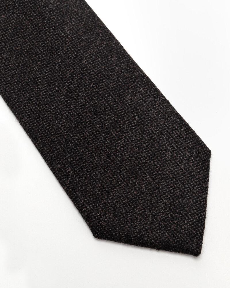 Krawat Eton A000_32597_38 ciemnoszary - fot:2