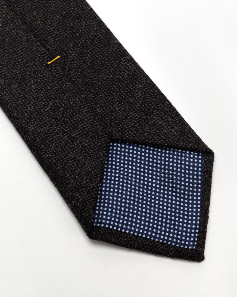 Krawat Eton A000_32597_38 ciemnoszary - fot:3
