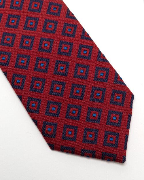 Krawat Eton A000_33140_59 czerwony