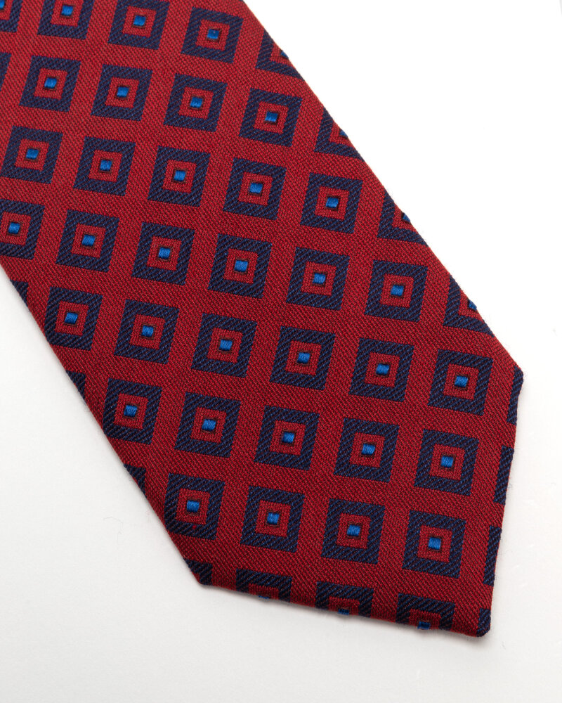 Krawat Eton A000_33140_59 czerwony - fot:2