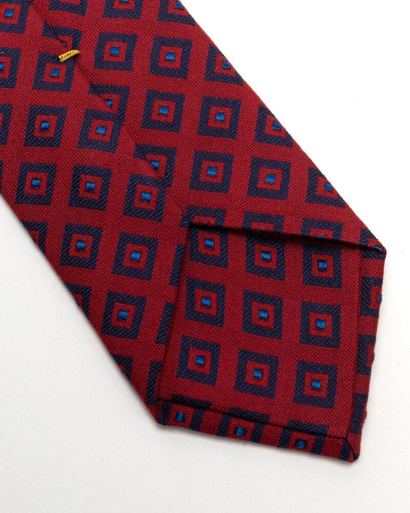Krawat Eton A000_33140_59 czerwony - fot:3